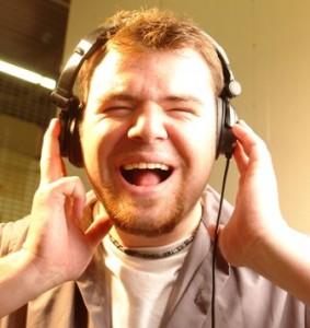 man-singing